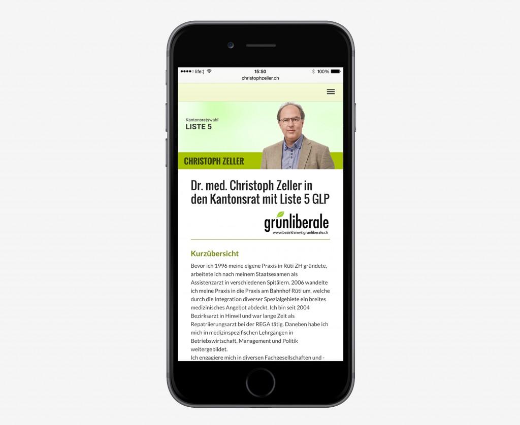 Responsive Webdesign - Christoph Zeller