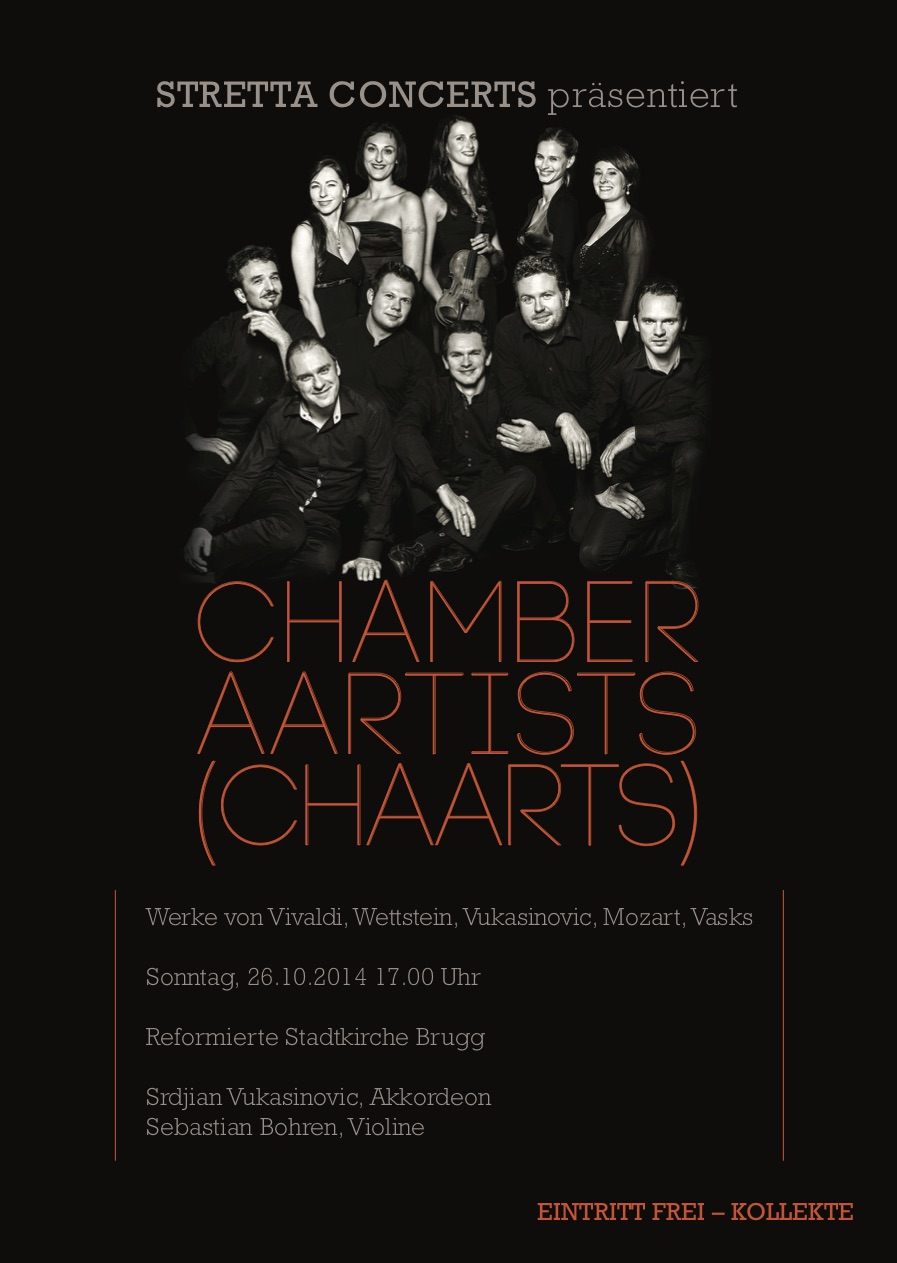 Chamber Aartists (Chaarts) - Stretta Concerts