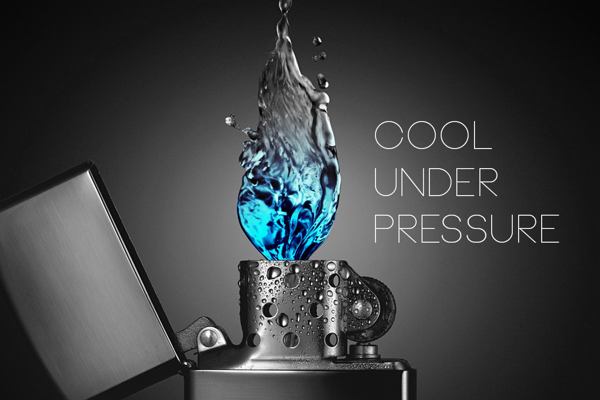 Cool under pressure - JZdesign Werbeagentur