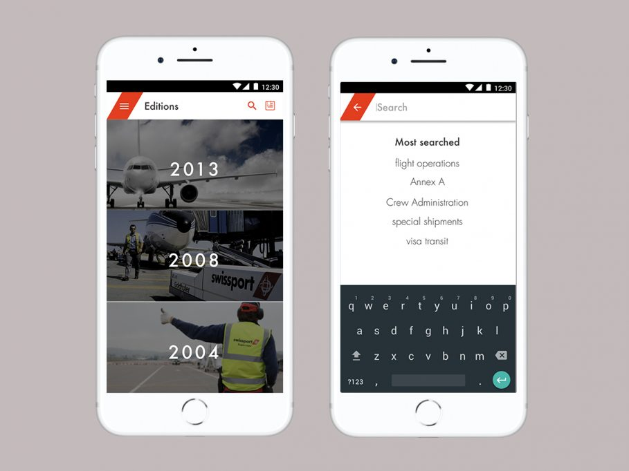Airplane Ground Handling Mobile App